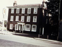 The Burn Bullock, formerly the Kings Head, London Road, Mitcham. Rear view.