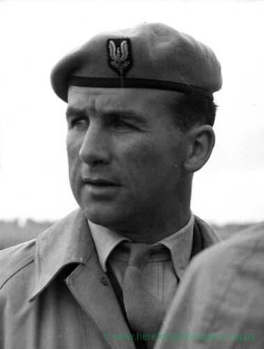 Captain Jacks of the SAS.