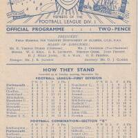 19480908 Official Programme Middlesbrough Home