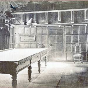 Billiard Room, Cheyney Court, Herefordshire