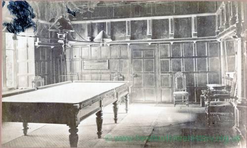 Billiard Room, Cheyney Court, Herefordshire