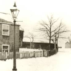 1910s A Cottage at the End of Mill Road, Houghton Regis, with the Corn Mill Still Working