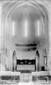 St. Matthew's Church, Durham Road: Interior