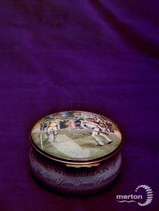 Memento of the first Lawn Tennis championship