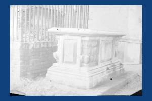 Ann Hallam's burial vault, Mitcham Parish Churchyard