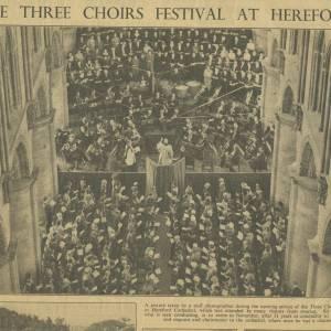 Three Choirs Festival, Hereford 1949