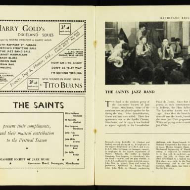National Federation of Jazz Organisations, Royal Festival Hall - 1955 005