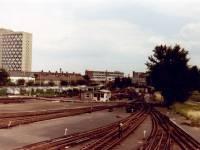 Morden Underground Railway tracks