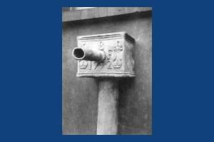 Ashford House: Cast iron pump head
