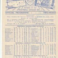 19500218 Charlton Athletic Home