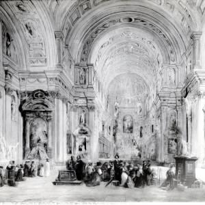 St Michael's Munich, J S Davis, Painting