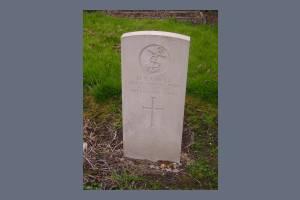Gravestone of Harold E Havill