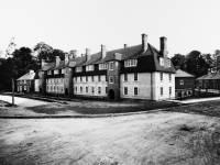 St. Helier Estate, Morden. Three storey flats