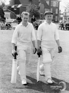 Mitcham & Wimbledon Cricket Match, Whit Monday