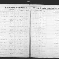 Burial Register 5 - June 1861 to January 1862