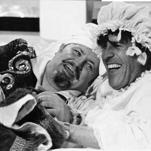 124 - Harry Secombe & Bruce Forsyth in costume