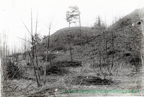 Sutton St Nicholas, Sutton Walls, entrance mounds, 1917