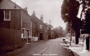 Central Road: The Plough, Morden