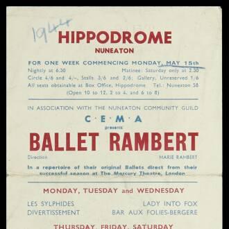 Hippodrome, Nuneaton, May 1944