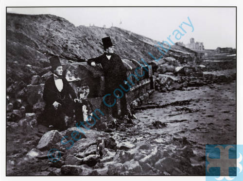 Henry Sampson, coastal erosion Southport Sea Wall