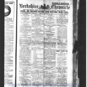 Berkshire Chronicle Reading 10-1916