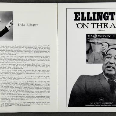 Duke Ellington Orchestra 'Sacred Concert' – Westminster  Abbey 24th   October 1973 009