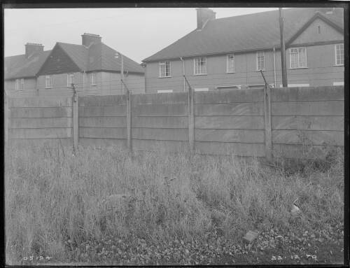 """24"""" Merton to Croydon main, Kings College playing fields, Mitcham site of pipe stone"""