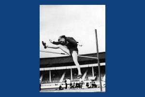 Dorothy Tyler (nee Odams) - Mitcham Athletic Club