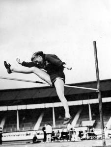 Dorothy Tyler (nee Odams) - Mitcham Athletic Club