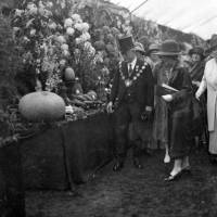 Mayoral Party at Southport Flower Show in 1926