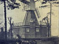 The Windmill, Horse & Cart in foreground, Wimbledon Common