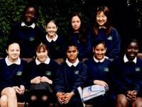 Students at Ricards Lodge School, Wimbledon