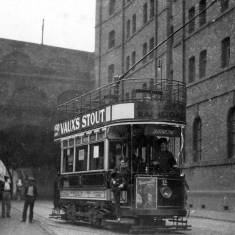Jarrow Tram at Tyne Dock Arches