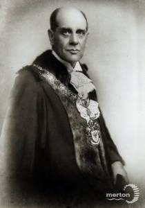 G. T. Burrows,  Wimbledon councillor, 1928-30