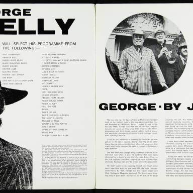 George Melly & John Chilton's Feetwarmers, Belgrade Theatre, Coventry - March 27th 1977 002