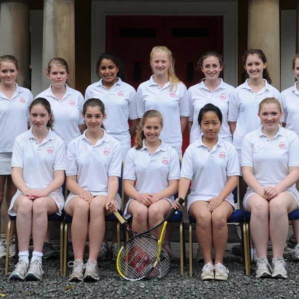 Girls Tennis 2012 U15A