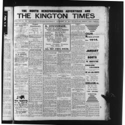 The Kington Times 1914