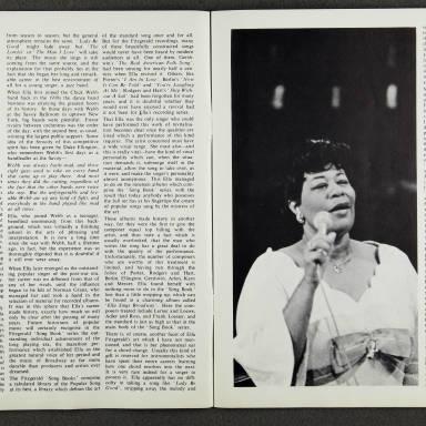 Ella Fitzgerald and Duke Ellington Orchestra – February  1967 004