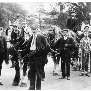 Hospital Parade 1911.