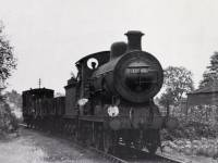Freight train approaching Merton Park Station