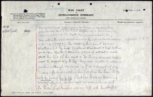 War Diary (2) for 2nd Battalion, Royal Sussex Regiment - Twyman