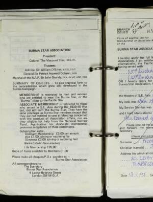 Nunnerley, Colonel Jack Haldane - N/941/95