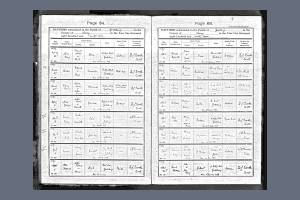 S Howard Baptism record