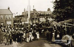 Mitcham Fair from Whitford Lane