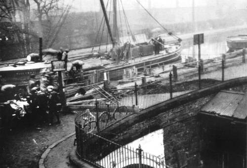 Whitbarrow Aqueduct repairs, April 1932