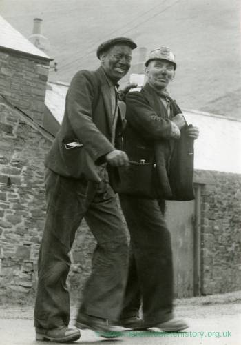 Pay Day (two miners leaving work)