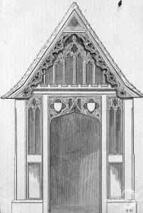 Porch at Merton Parish Church