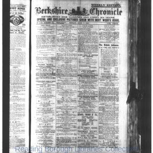 Berkshire Chronicle Reading 07-1916