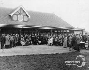 Joseph Hood Recreation Ground: Opening of bowling green