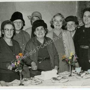 Grenoside Mothers Union celebrating Mrs Bolers 80th Birthday 09 02 63